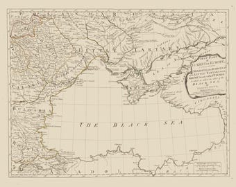Black Sea Map 1788