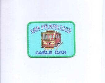 Vintage San Francisco Cable Car Patch