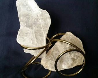 TWIN FLAME / Selenite Crystals / Sacred Heart / Chakra / Meditation Stones / Healing Crystal / Quartz Crystals / Soulmates / Love / Friends