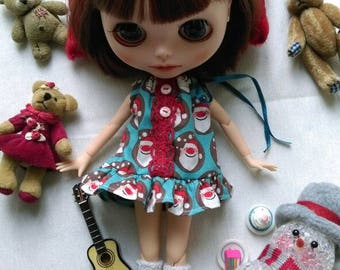 Blythe/pullip/tangkou and other 1/6 scale doll/doll sleepwear/night shirt