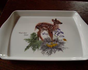 Red Deer Fawn Snack Tray