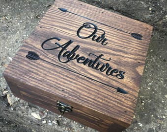 Christmas gift - Christmas for him - Gift for him - Gift for her - Christmas couple gifts - Our adventures box - Christmas gift for men