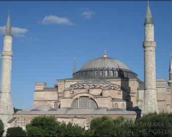Poster, Many Sizes Available; Hagia Sophia In Istanbul P1