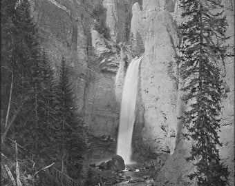 Poster, Many Sizes Available; Tower Falls Yellowstone National Park C1872