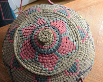 Handwoven South America basket