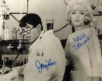 Jerry Lewis 8.5x11 custom made photo #1128-1 Movie Star Legend