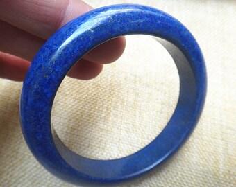 60 .5mm Natural lapis lazuli Bracelet / security peace