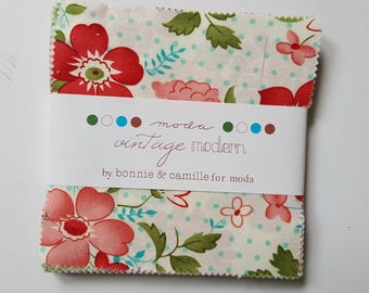 Bonnie & Camille Vintage Modern Charm Pack for Moda, OOP and VHTF