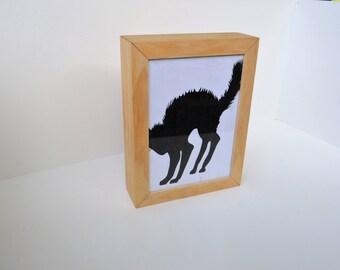 Picture frame, secret compartment boxe, hidden compartment box, hidden compartment, wood picture frame