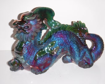 Raku Chinese Dragon