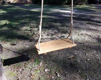 Old Fashioned Wooden Swing