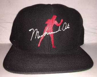 Vintage Muhammad Ali Snapback hat cap 90s boxing deadstock greatest of all time