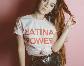 Latina Shirt - Girl Power Shirt - Feminist T-shirt - Women Empowerment - Feminist Shirt - Feminism - Latina - Latinas - Women's March