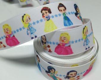 Princesses (by the yard) 22mm Ribbon