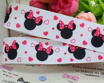 Minnie (by the yard) 22mm Ribbon