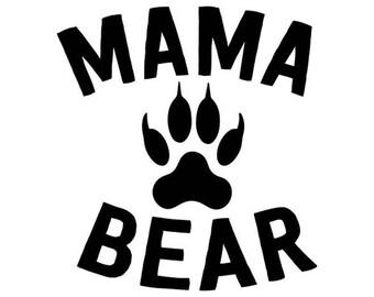 Mama Bear Decal No. 3