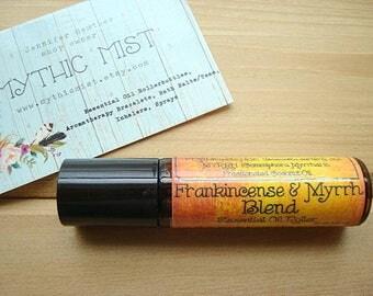 FRANKINCENSE AND MYRRH Blend, Essential Oil Roller Bottle, Essential Oil Blend, Pure Essential Oils, Frankincense Oil, Myrrh Oil