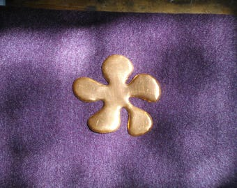 Flower 5cm copper thickness 0.5 mm