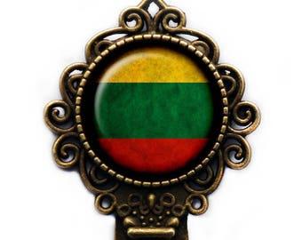 Lithuania Lithuanian Flag Bookmark