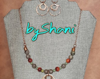 Beautiful One of a Kind Necklace Set.
