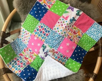 Bright Baby Buggy Blanket