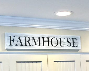 Farmhouse Sign - Farmhouse Decor - Kitchen Decor - Fixer Upper Decor - Rustic Wood Sign - Rustic Farmhouse Sign - Farmhouse Kitchen Sign