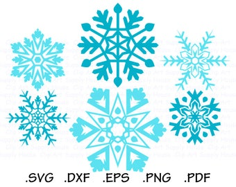 Snowflake SVG, Snowflake Clipart, Christmas Snowflake SVG, Snowflake Vector, Snowflake Cricut, Snowflake Silhouette, Snowflakes SVG - CA485