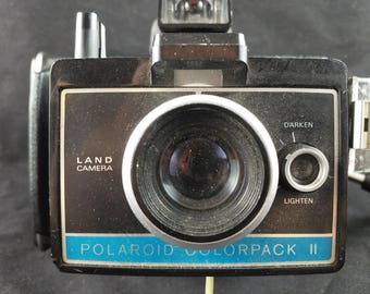 Polaroid, Polaroid camera, colorpack 2, colorpack, vintage camera, photography, instant camera, 80s, 70s
