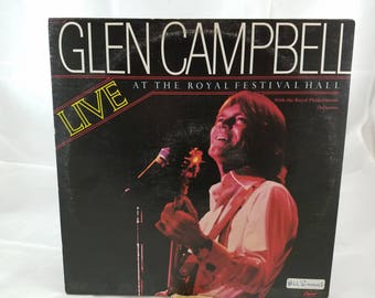 Glen Campbell Live At The Royal Festival Hall Vinyl LP Record Album