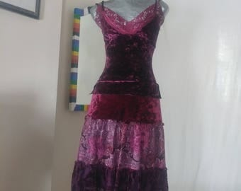 Romantic Gypsy Upcycled dress
