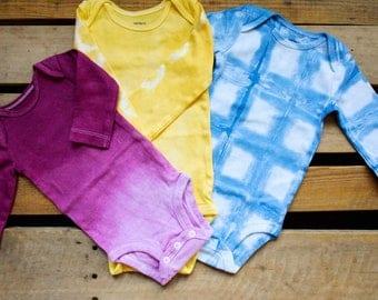 Ready to Ship - Surprise Tie Dye - Tie Dye Body Suit - Tie Dye Onesie - Sale