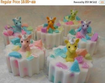 On Sale Unicorn Soap - Unicorn Gift - Unicorn Party - Unicorn Party Favor - Magical Party Favor - Unicorn Birthday Party -  Novelty Soap - K