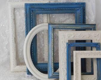 Frames, Blue Frame, White Frame, Decor, Home and Living, Boy's Frame