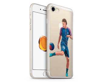 Neymar JR Clear iPhone 7 Case iPhone 7 Plus Case Clear iPhone 6 Case Samsung Galaxy S8 Plus Case Clear iPhone Case With Design Neymar JR