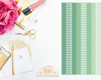 93 Custom Header June Stickers | Planner Stickers | Planner Stickers designed for use with the Erin Condren Life Planner
