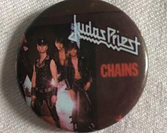 Vintage Judas Priest Pin