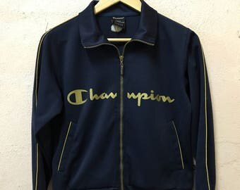 Vintage Champion Women Track Jacket / Medium Size