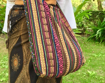 Crossbody Bag Women // Cross Body Bag  // Ethnic Bag // Hippie Bag // Shoulder Bag // Gypsy Bag Women //  Festival Bag