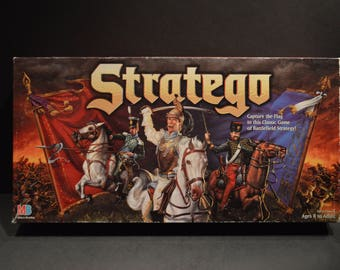Milton Bradley 1996 Stratego The Classic Game of Battlefield Strategy-Complete