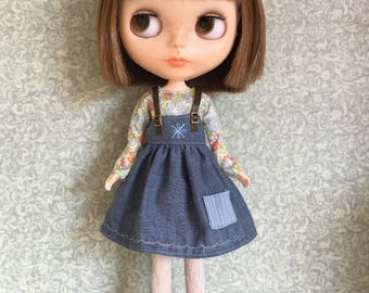Blythe blouse and pinafore set