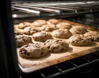 12 Pack Box - Gluten Free Diabetic Safe Low Carb Whole Foods Diet Paleo Atkins Fresh Baked Cookies - Chocolate Chip