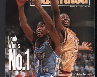 Vintage Magazine - Sports Illustrated : March 8 1993 - North Carolina