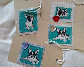 French Bulldog gift tags