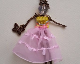 Jewelry bag, chic doll articulated, 002