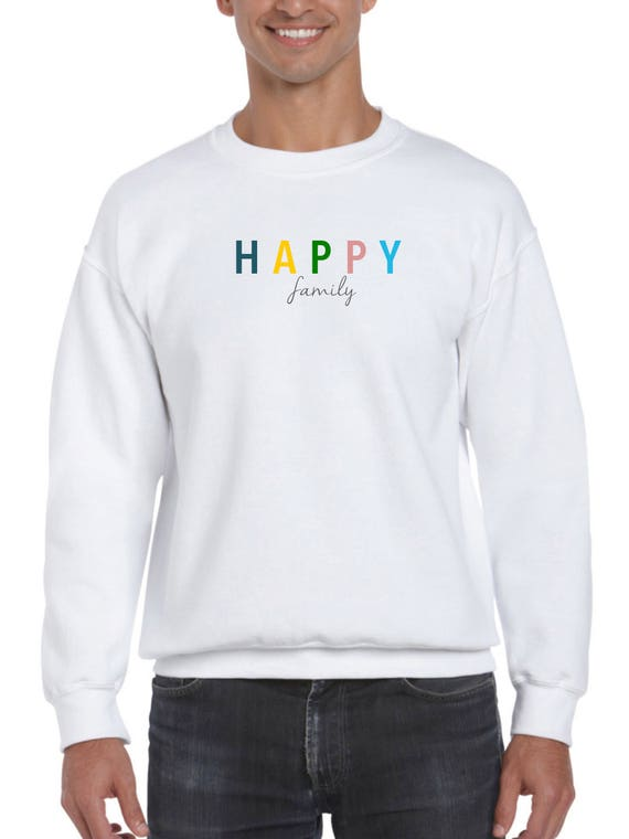 Men sweater HAPPY FAMILY