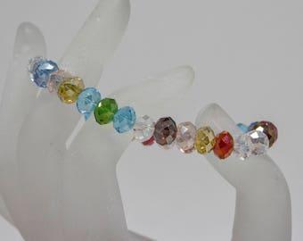 Lovely multi color beaded bracelet