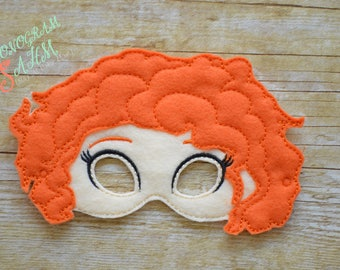 Miss Frizzle Brave Girl Mask adult/child size