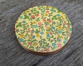 Floral Vintage Compact