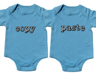 Twin Baby Boys, Copy Paste, Boy Twins, Twin Boys, sizes from 0 to 12 months, Twin Baby Boy Gifts