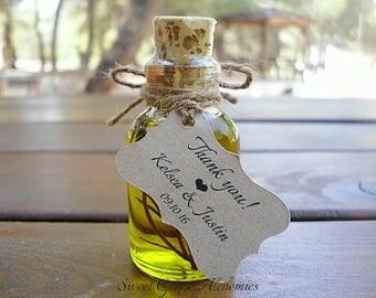 125 pcs Favorite Olive Oil Favors (25ml / 0.85oz), Olive Oil Wedding Favors, Olive Oil Baby Shower Favors, Olive Oil Bridal Shower Favors,